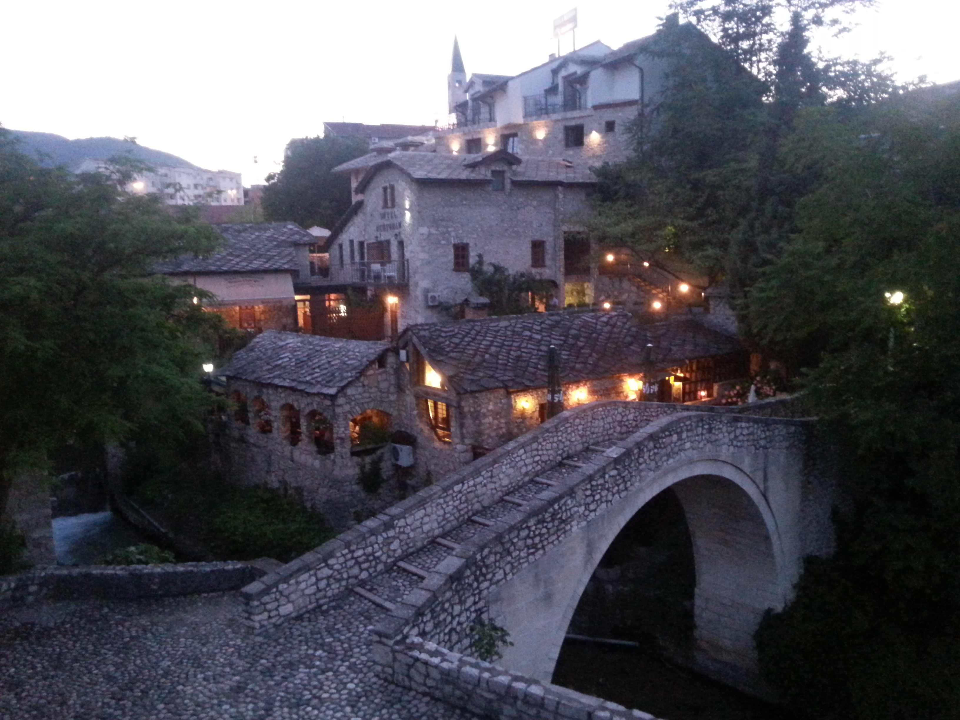 Mostar akşam