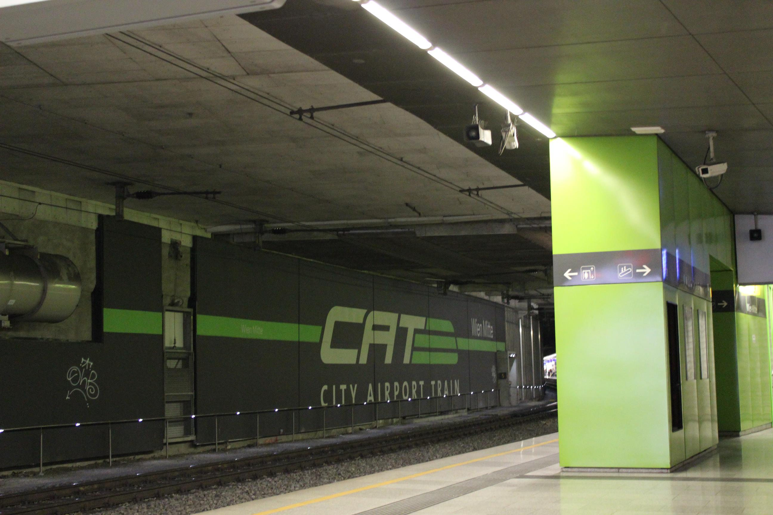 CAT city airport train