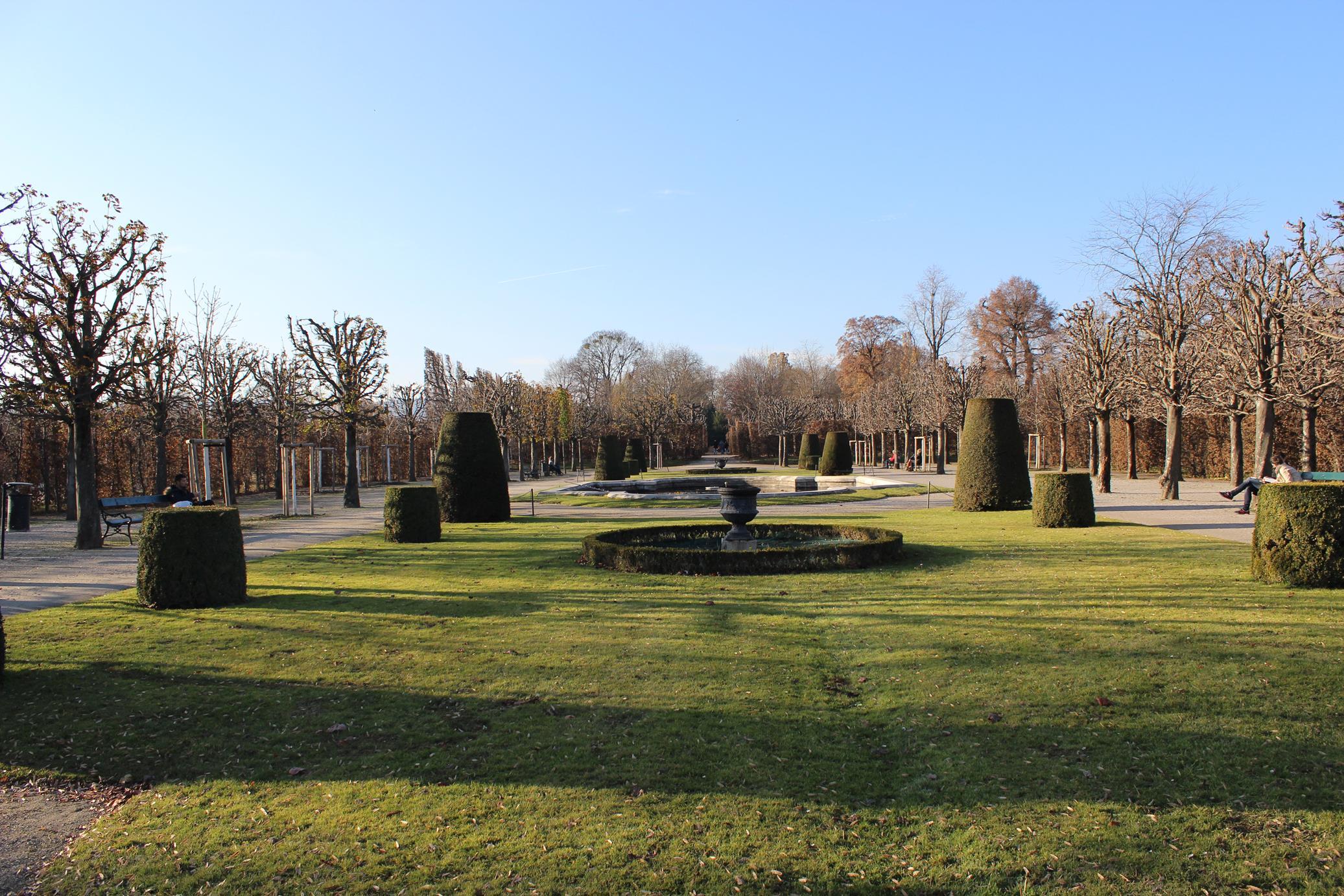 Schönbrunn bahçe